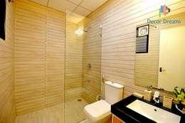 Independent Bungalow - Mr. Modi: scandinavian Bathroom by DECOR DREAMS