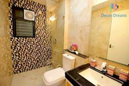 Independent Bungalow - Mr. Modi: scandinavian Bathroom by DECOR DREAMS