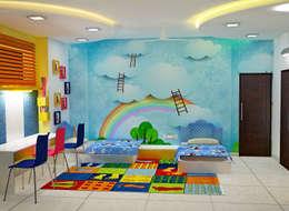 JR Greenwich Villas, Sarjapur Road - Ms. Natasha:  Teen bedroom by DECOR DREAMS