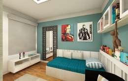 Boys Bedroom by tsmarquiteto