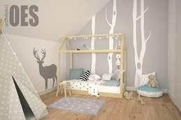 غرفة الاطفال تنفيذ OES architekci