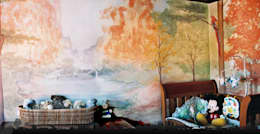Baby room by worldmural