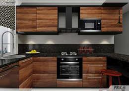 modern Kitchen by PRATIKIZ Mimarlık/ Architecture