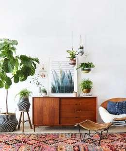 Inspiración para Living : Livings de estilo ecléctico por Vero Capotosto