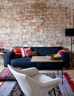 Inspiración para Living : Livings de estilo moderno por Vero Capotosto