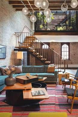Inspiración para Living : Livings de estilo industrial por Vero Capotosto