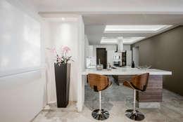 Cocina: Cocinas equipadas de estilo  por Constructora e Inmobiliaria Catarsis