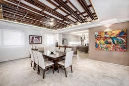 Comedor: Comedores de estilo moderno por Constructora e Inmobiliaria Catarsis