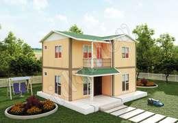 Сборные дома в . Автор – İdeal Ev (Prefabrik Evim)