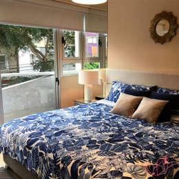 ESPACIO MIXTO: Dormitorios de estilo  por LOVE IS ALL
