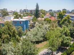 Penthouse Triplex · Barrio Italia: Casas de estilo ecléctico por Francisco Vicuña Balaresque