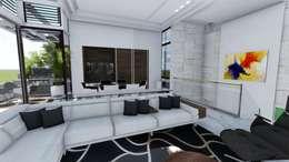 Pent House Virginia Loft, Maracaibo. Estado Zulia: Salas / recibidores de estilo moderno por Arquitectura Creativa