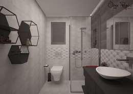 modern Bathroom by Deniz Gökçe Mimarlık ve İnşaat