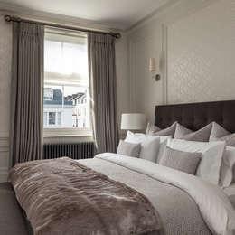 Kensington Town House: modern Bedroom by London Home Staging Ltd