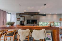 modern Dining room by ME Fotografia de Imóveis