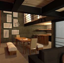 Comedor: Comedores de estilo moderno por Perfil Arquitectónico