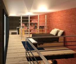 Habitación: Recámaras de estilo moderno por Perfil Arquitectónico