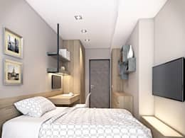Dormitorios de estilo moderno por 棠豐室內裝修設計工程有限公司