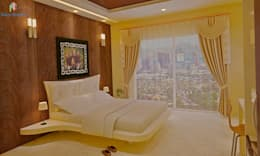 Sobha City, 3 BHK - Mr. Agrawal: modern Bedroom by DECOR DREAMS