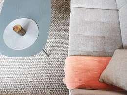3 pièces - Fontenay-sous-Bois: Salon de style de style Moderne par Sandrine Carré