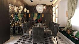 غرفة السفرة تنفيذ Belal Samman Architects