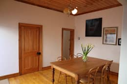 Campbell Street: rustic Dining room by Alex Jordaan Construction