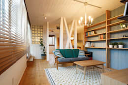 scandinavian Living room by dwarf