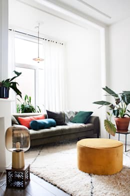 eclectic Living room by FORM MAKERS interior - concept - design