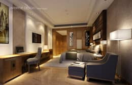 Hurghada:  غرفة نوم تنفيذ  Axis Architects for architecture and interior design