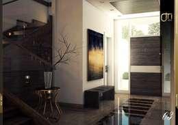 Pasillos y vestíbulos de estilo  por Ori - Architects