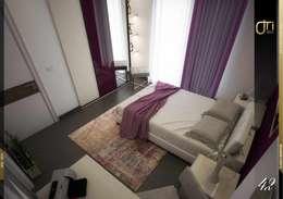 Dormitorios de estilo moderno por Ori - Architects