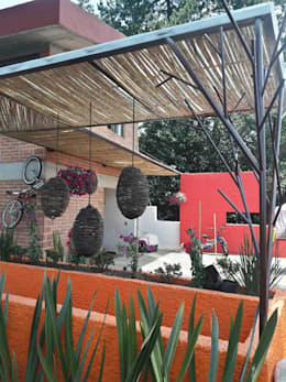 TERRAZA: Terrazas de estilo  por Bello diseño interior