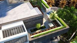 رووف تراس تنفيذ Belal Samman Architects
