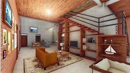 Phòng khách by Pr+ Architect