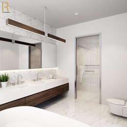 VILLA - VŨNG TÀU:  Phòng tắm by REAL HOME VN
