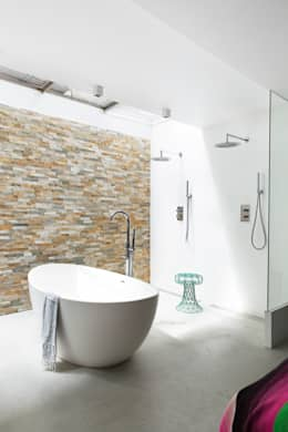 modern Bathroom by BNLA architecten