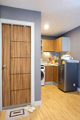 Interior landscaping by Knock door interior design & decoration