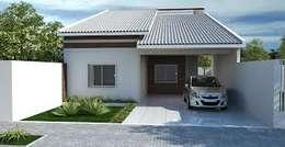 casa x: Casas de estilo clásico por pia arquitectos