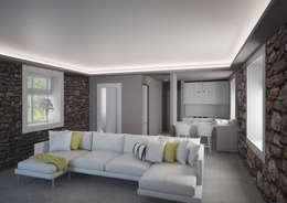 Ruang Keluarga by Arch. Francesco Antoniazza - Verbania Como