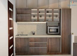 TOE TREE APPARTMENTS:  Kitchen units by DECOR DREAMS