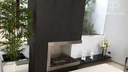 Detalle Chimenea: Anexos de estilo moderno por EPG  Studio