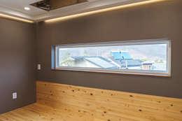 든해: AAPA건축사사무소의  침실