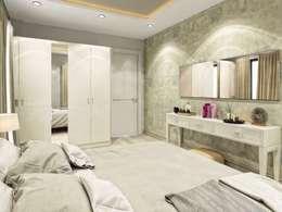 VERO CONCEPT MİMARLIK – Symphony Villa - Güzelbahçe İzmir: modern tarz Yatak Odası