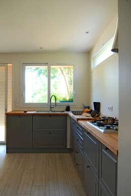 ห้องครัว by B² atelier d'architecture