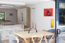 Projekty,  Jadalnia zaprojektowane przez LA Hally Architect