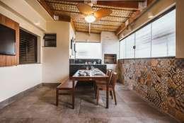 Terraço FE: Terraços  por KC ARQUITETURA urbanismo e design