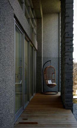 築青室內裝修有限公司의  베란다