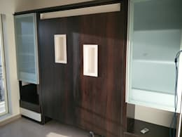 Murphy bed: asian Bedroom by Workz Services LLP