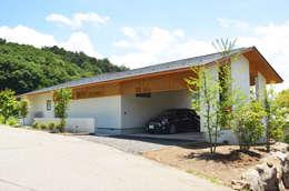 Maisons de style de style Moderne par 鎌田建築設計室