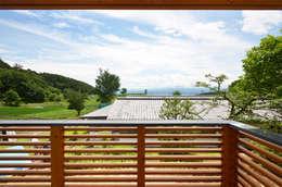 Terrazas de estilo  por 鎌田建築設計室